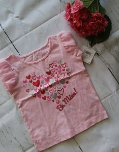 """Other - Toddlers """"Be Mine"""" Valentines Day Shirt"""
